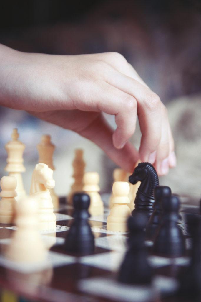 Nawet gra w szachy to świetne doświadczenie (fot. Karolina Hrynek)