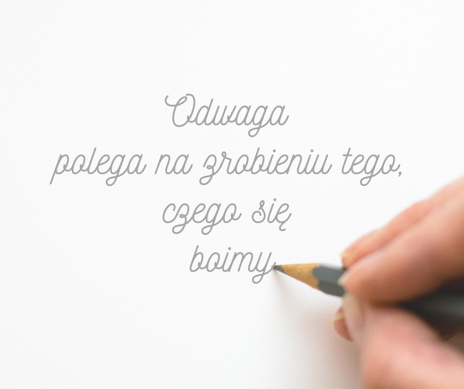 Odważ się żyć kreatywnie